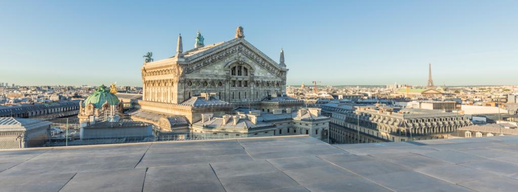 Terrasse Galeries Lafayette Paris Haussmann