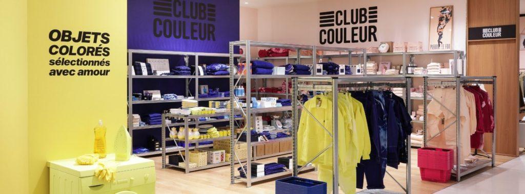 Club couleur concept store