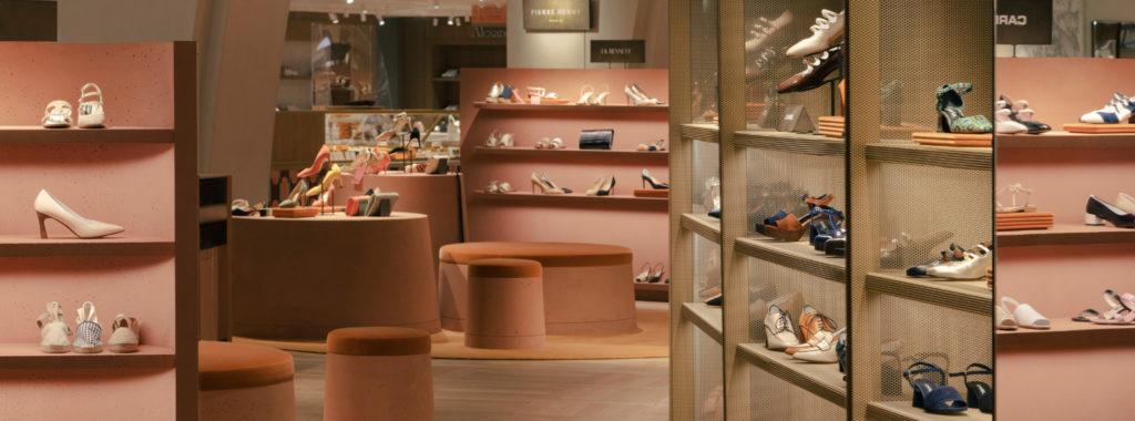 New women's shoe department