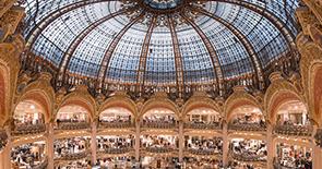 Galeries lafayette shopping mall