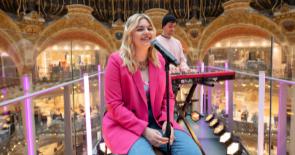Concert Louane Galeries Lafayette
