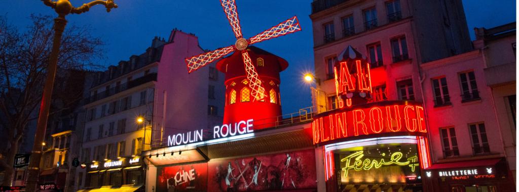 Moulin Rouge sur le Glasswalk